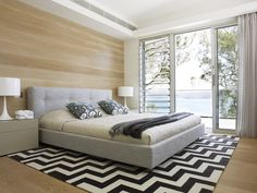 A bedroom in Avalon, Sydney by Greg Natale | Sydney based architects and interior designers.