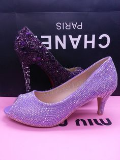 Nina Forbes Royal Lilac - 6pm.com - with cute bows! | Shoes ...