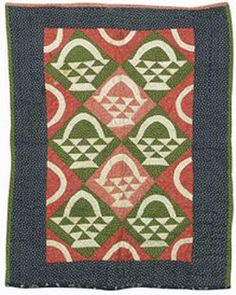 Barbara Brackman's MATERIAL CULTURE: Reproduction Quilts: Basket Ideas