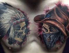 Native American Tattoos and Their Meanings When you pick a Native American Tattoo design, start with what tribe you want the design to come from. Surprisingly, the dozens of tribal art styles...