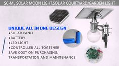 Solar Moon Light socreat patent solar street light