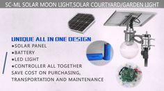 Solar Moon Light socreat patent solar street light