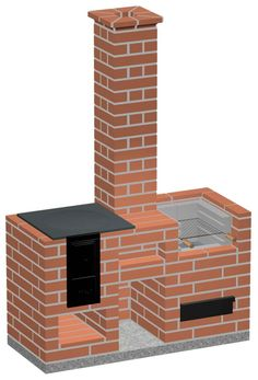 Barbecue Design, Brick Bbq, Farm Projects, Rocket Stoves, Wood Fireplace, Bedroom House Plans, Outdoor Kitchen Design, Backyard, Outdoor Decor