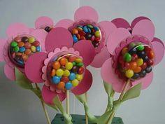 Flor confeti