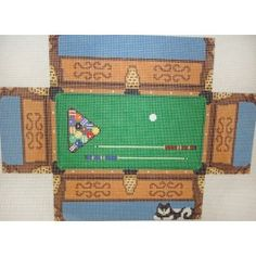Pool Table Brick Cover