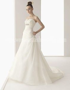 Making Your Own Wedding Dresses Empire Waist Elegant And Luxurious Chapel Train Hall Church Hot Sale