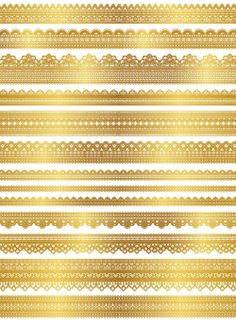 Instant Download Digital Gold Lace Dolly Clipart by OneStopDigital, $3.75