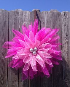 Beautiful flower wreath! Only at The Simple Door on etsy!