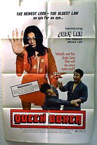 QUEEN BOXER (1974) Movie Poster