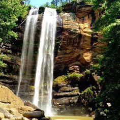 Toccoa Falls in north Georgia.