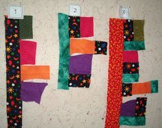 Patchwork Pie: Mile-A-Minute Quilt...to use up all those little pieces I love