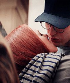 Can we talk about the way he looks at her after the kiss?