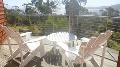 The Deck -The Tree House -Bruny Island