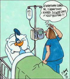 Beep Beep! medical humor