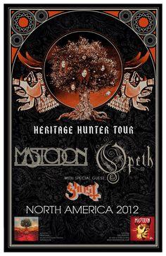 Mastodon - Opeth - Ghost
