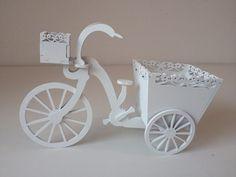 Bicicleta Decorativa Em Mdf Pintado - R$ 19,90