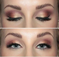 This look can be created with the Naked 3 Palette