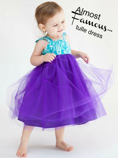 Almost Famous Tulle Dress PDF Sewing Pattern - Whimsy Couture
