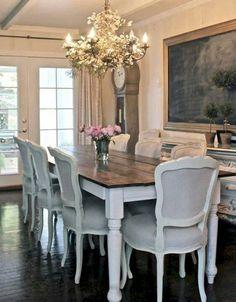 Best inspire farmhouse dining room table and decor ideas (23)