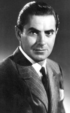Image detail for -Tyrone Power Photo : Tyrone Power 6937 Old Hollywood Stars, Old Hollywood Glamour, Hollywood Actor, Golden Age Of Hollywood, Classic Hollywood, Vintage Hollywood, Tyrone Power, Becoming A Father, Old Movie Stars