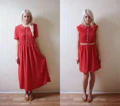 Refashion Co-op: Polka Dot Dress Makeover