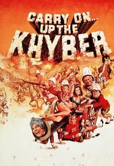 Carry On Up The Khyber- I love it so much I reenact it! Hd Movies, Movies And Tv Shows, Movie Tv, Films, English Comedy, British Comedy, Best Movie Posters, Film Posters, Comedy Tv