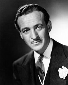 In memory of David Niven - actor born in London (03/01/1910 - 07/29/1983) at age 73