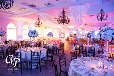 Some drapery and uplighting can help transform our ballroom into something that fits your vision
