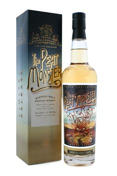 Peat Monster Anniversary Edition by Chad Michael, via Behance. Monster love #packaging PD