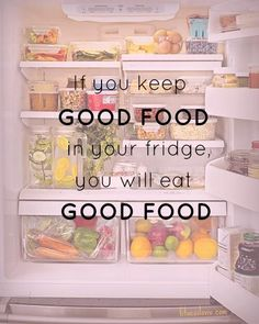 Your refrigerator can be your best weight loss tool or it can help you turn your diet into a calamity.