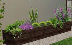 arreglos para jardineras - diseño de jardines 3D foto 3