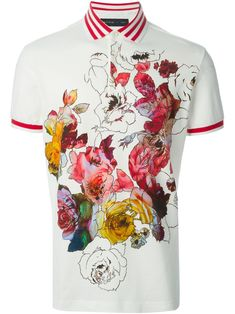 Etro Floral Polo Shirt - Fashion Clinic - Farfetch.com