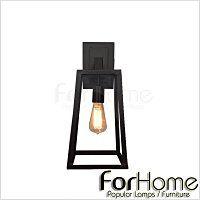 [ ForHome ] W-040 loft 工業 復古 鄉村風  RH Loft Filament Sconce 愛迪生 斐拉壁燈  復刻版
