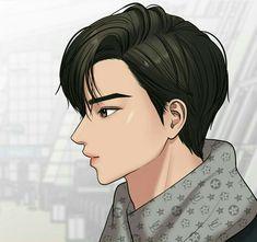 Suho, Webtoon Comics, True Beauty, Cute Guys, Cartoon Characters, Manhwa, Angel, Drawings, Random Pictures
