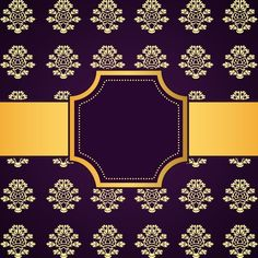 Purple decoration pattern background with golden frame vector 03 - https://www.welovesolo.com/purple-decoration-pattern-background-with-golden-frame-vector-03/?utm_source=PN&utm_medium=welovesolo59%40gmail.com&utm_campaign=SNAP%2Bfrom%2BWeLoveSoLo