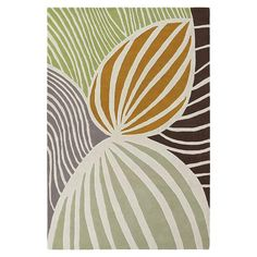 Inhabit - Leaf Wool Rug INH-2162 at 2Modern