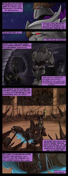 Megatron: Exile pt 2 by EnvySkort on deviantART
