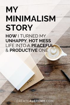 I used to be a hot mess. I was unhappy and I couldn't get things done. Then I found Minimalism, and things started falling into place. Read on to see how it changed my life and how it can change your life, too. Minimalist Lifestyle, Minimalist Home, How To Become Minimalist, Minimalist Parenting, Less Is More, Minimalism Living, Konmari, D House, Declutter Your Home
