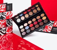 Morphe is now available by Douglas Germany. What about this beautiful eyeshadow palette x Coca Cola? #eyeshadow #morphebrushes #makeup #ad