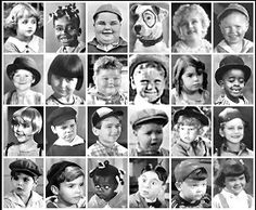 Little Rascals. The whole gang Comedy Short Films, Comedy Movies, Series Movies, Classic Comedies, Vintage Tv, Vintage Horror, Vintage Pins, Vintage Movies, Vintage Photos