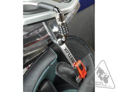 helmetlok ii - the easy way to lock your expensive motorcycle