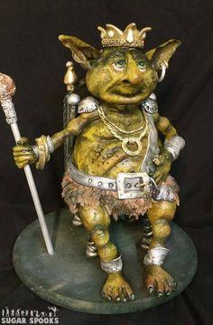 Troll King Cake Art   Beth Townsend