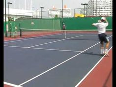 Mini Tennis Drills - Forehand Only