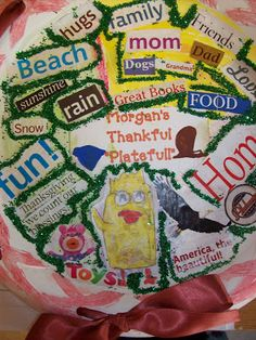 First Grader...at Last!: A Thankful Plate Full