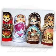 Matryoshkas Greeting Cards