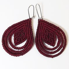 Tutorial: Rhombus in loops earring