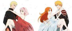 NaruSaku and Ichihime by Eishou-Rai on DeviantArt