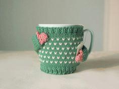 Heart Mug Sweater in Mint Green por mugsweater en Etsy, $19.50