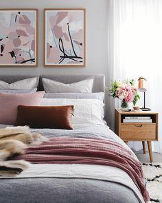#dormitorio cinco tips para conseguir el dormitorio ideal. colores, textiles, complementoshttp://www.diariodeco.com/2018/03/5-tips-para-crear-el-dormitorio-ideal.html ayudaadecorar
