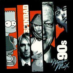 DJ Spinbad 90's MegaMix Mixtape Compilation CD